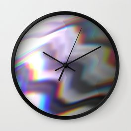 HoloGlitch Wall Clock