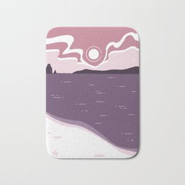 Sunrise at the Beach Bath Mat