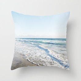 San Diego Waves Throw Pillow