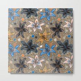 Lilies Metal Print