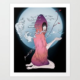 Anima Art Print