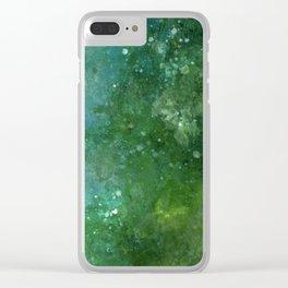 Emeralds Clear iPhone Case