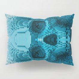 Pixel skull Pillow Sham