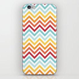 Rainbow Chevron #2 iPhone Skin