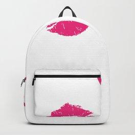Sweet Valentines Day Pucker Up Lipstick Valentine Backpack