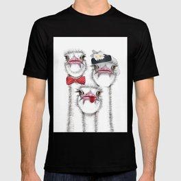 Ostrich family T-shirt