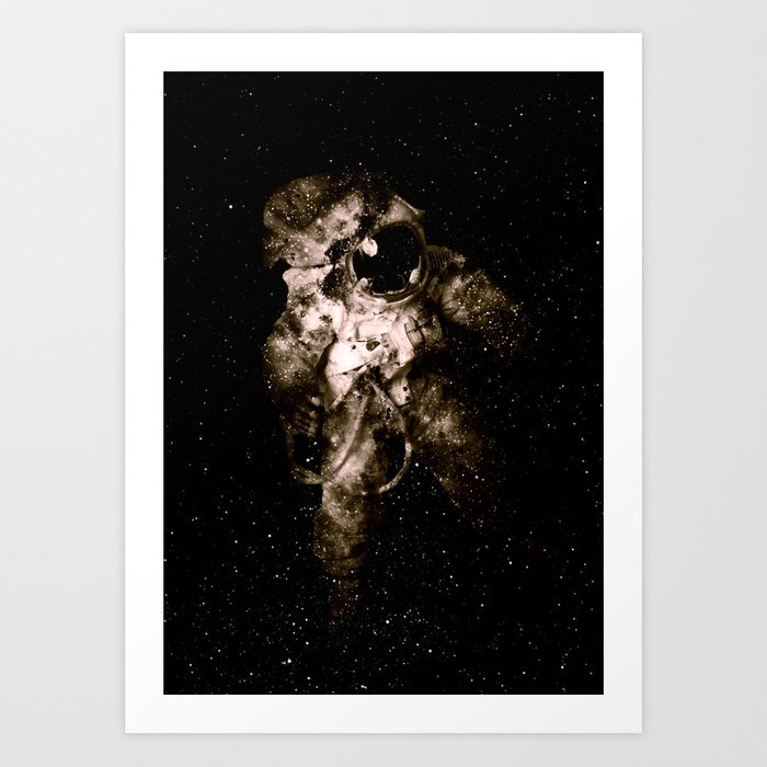 Discover the motif ASTRONAUT by Andreas Lie as a print at TOPPOSTER