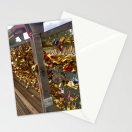Parisienne Locks of Love Bridge Stationery Cards