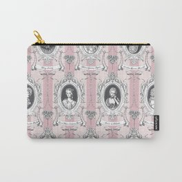 Science Women Toile de Jouy - Pink Carry-All Pouch
