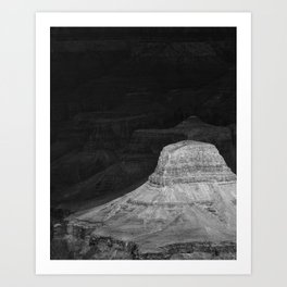 Storm has arrived III, Grand Canyon Art Print