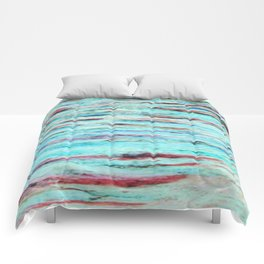 Color gradient and texture 33 Comforters