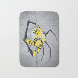 Poletober - Spider Bath Mat