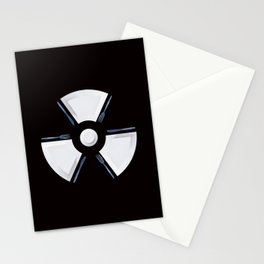 Polluted - Dinner Time Symbol Stationery Cards