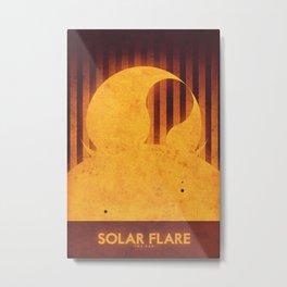 Sun - Solar Flare Metal Print
