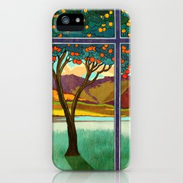 Shadow of a Seville Orange iPhone Case