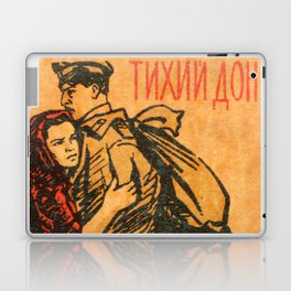 "Old Soviet Film Poster ""Quietly Flows the Don"" Laptop & iPad Skin"