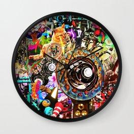 Psycho gravity Wall Clock