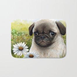 Pug Dog Bath Mat