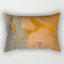Pieces of Time Rectangular Pillow