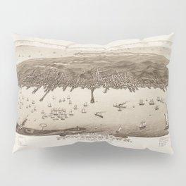 Map of Provincetown 1882 Pillow Sham