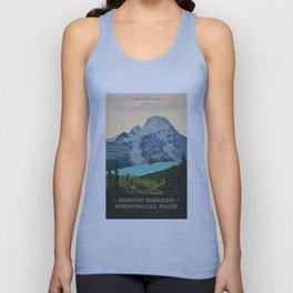 Mount Robson Provincial Park Unisex Tank Top