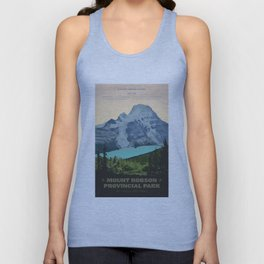Mount Robson Provincial Park Unisex Tank Top