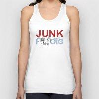 junk food Tank Tops featuring I HEART Junk Food by HemantS