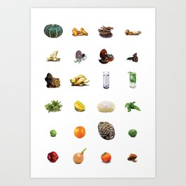 Oobites at One Year Old Art Print