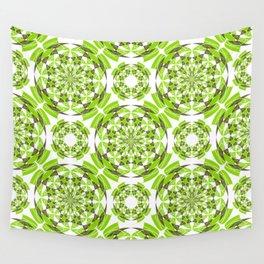 Fresh geometric pattern Wall Tapestry