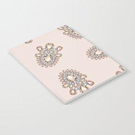 Jewelbox: Morganite Brooch in Light Blush Notebook