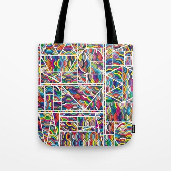 Kaku Technicolor Tote Bag