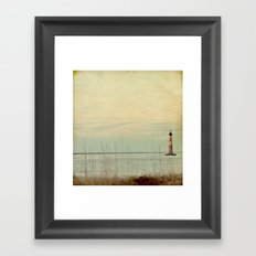 Morris Lighthouse Framed Art Print