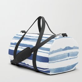 Watercolor Stripe Duffle Bag