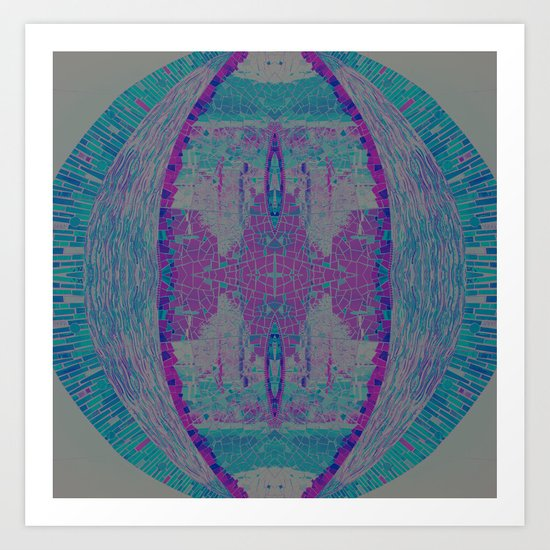 Jewel Tones Art Print