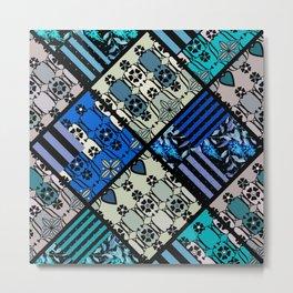 rustic patchwork 2 Metal Print