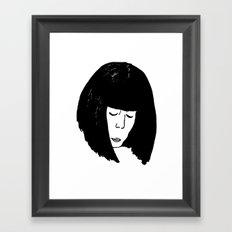 The Thinker Framed Art Print