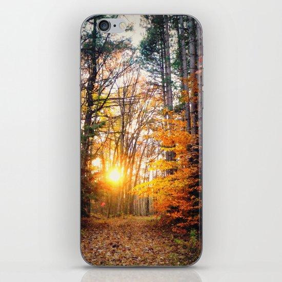 The Burning iPhone & iPod Skin