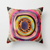 portal Throw Pillows featuring Portal  by Emily Kenney