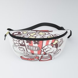 Pop Corn Monsterfor animated characters comics and pop culture lovers Fanny Pack