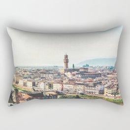 Florence, Italy Panorama Rectangular Pillow