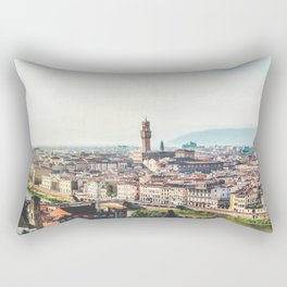 Florence, Italy Panorama Rectangular Pillow