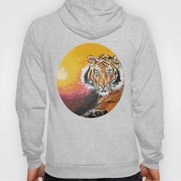 Awaiting the Darkness of Night (Male Tiger) Hoody