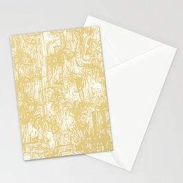 Golden paper Stationery Cards