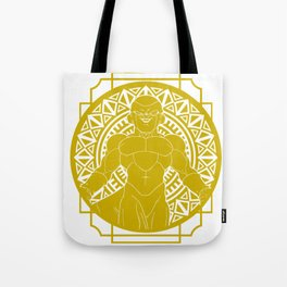 Stained Glass - Dragonball - Golden Frieza Tote Bag