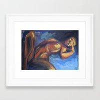 musa Framed Art Prints featuring Musa RA1 by Ziuhtei Erdmann