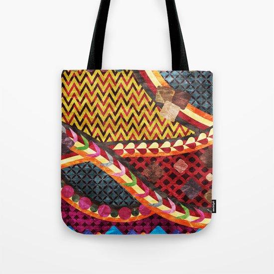 Multi-Color Geometric Fantasy II Tote Bag