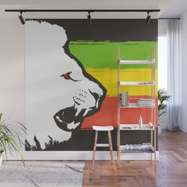 Rasta Lions (The Kingdom) Wall Mural