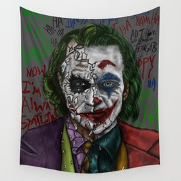 Psychotic Anarchist meets The Fiasco Comedian Wall Tapestry