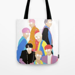BTS IDOL Hanbok Illustration Tote Bag