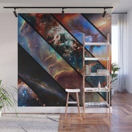Space collage: nebula mashups Wall Mural